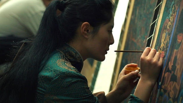 Seqinglamu painting Jonang Thangka